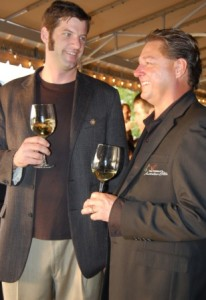 wente and peter dombrowski1 206x300 Drinking Wente with the Winemaker