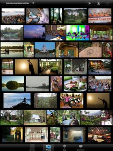 Screen shot gallery. iPad 225x300 Yoga Holidays Worldwide