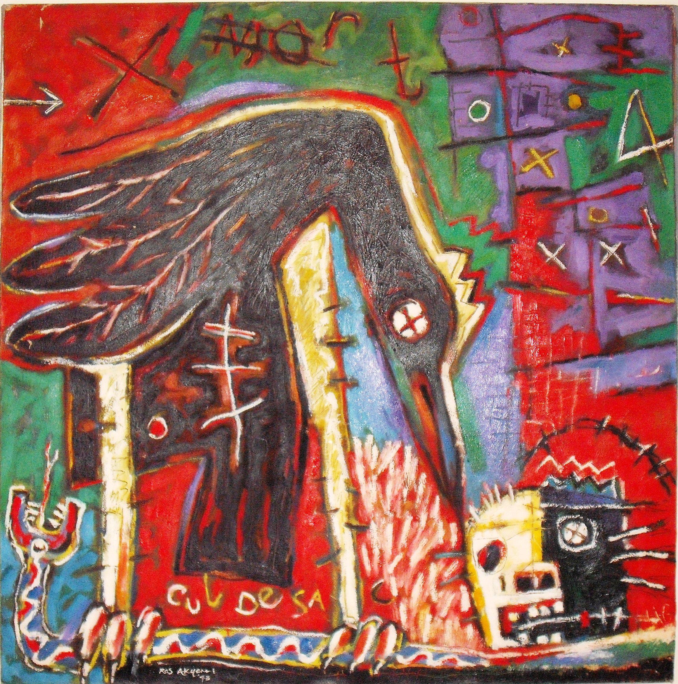 Ras Akyem I Ramsay (Barbados) - Blakk Bird