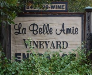 sign 300x244 Events Set for La Belle Amie Vineyard
