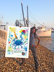Amiri Farris Arts seafood festival pic1