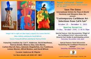 Contemporary Caribbean Art at the Dwyer Center Harlem NYC 300x194 Contemporary Caribbean Art celebrates World Harmony