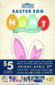 Egg Hunt Poster 2015