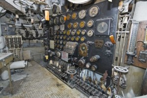 electrical panel in engine room 3