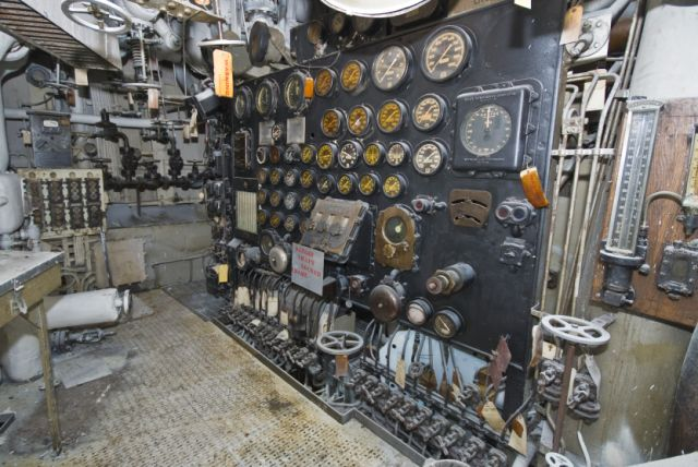 electrical panel in engine room 3 - International Show & Tell