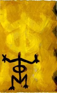 Pepe-Coronado-Dominican-Republic-monoprint-taino